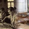 Blick in die Werkstatt von früher und heute
