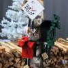 Weihnachtliche Uhrenmotive